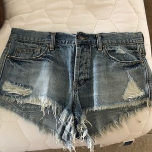 We the free cut off jean shorts